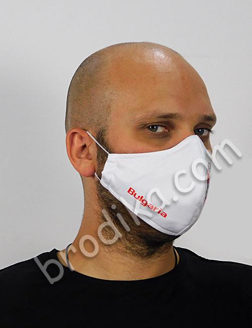 """Трислойна предпазна маска за лице """"Кръговрат на живота"""" 2"""