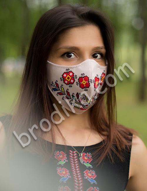 """Трислойна предпазна маска за лице """"Силата на Дървото на живота"""" 6"""