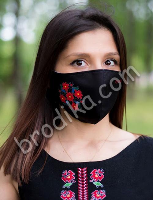 """Трислойна предпазна маска за лице """"Кръговрат на живота"""" 1"""