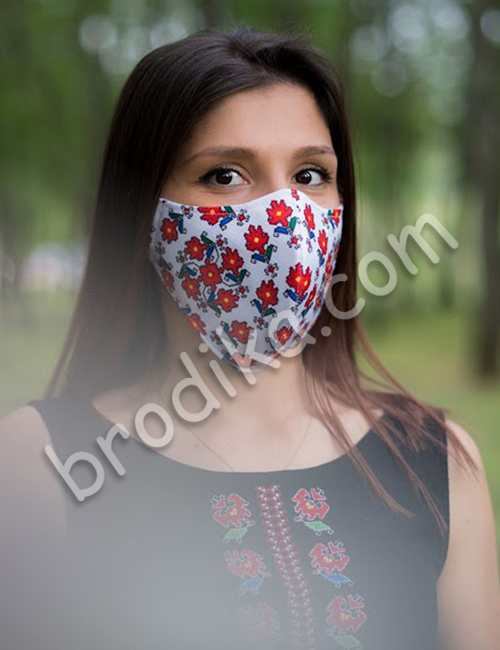 """Трислойна предпазна маска за лице """"Силата на Кръговрата на живота"""" 9"""