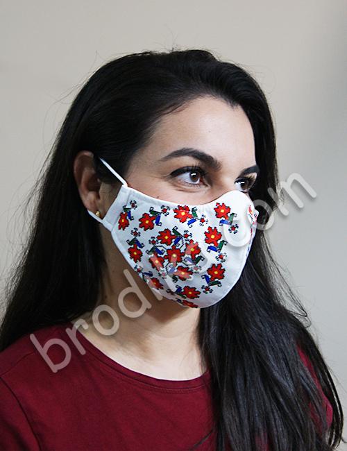 """Трислойна предпазна маска за лице """"Силата на Кръговрата на живота"""" 2"""