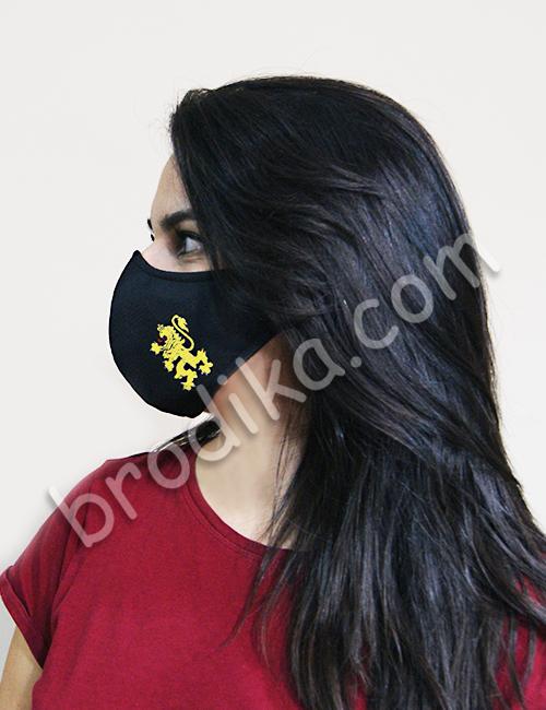 """Трислойна предпазна маска за лице """"Златен Български Лъв"""" 3"""