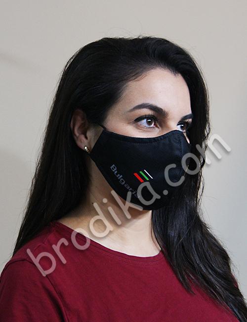 """Трислойна предпазна маска за лице """"Златен Български Лъв"""" 2"""