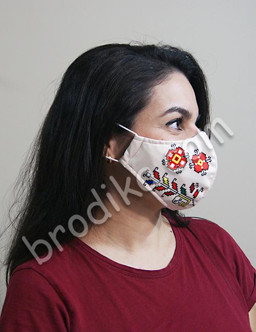 """Трислойна предпазна маска за лице """"Силата на Дървото на живота"""" 3"""