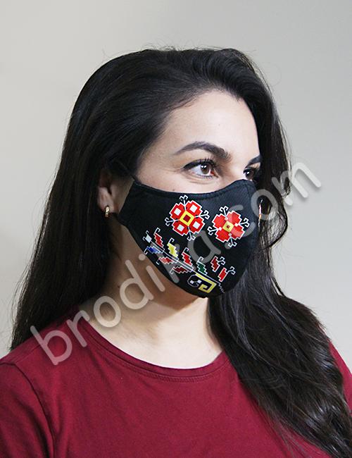 """Трислойна предпазна маска за лице """"Силата на Дървото на живота"""" 7"""
