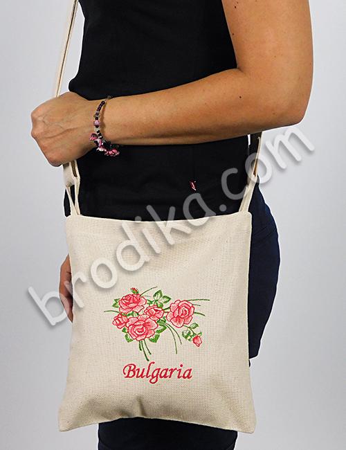 Текстилна чанта с регулируема дръжка 4