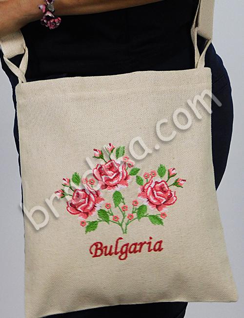 Текстилна чанта с регулируема дръжка 22