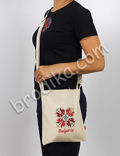 Текстилна чанта с регулируема дръжка 3