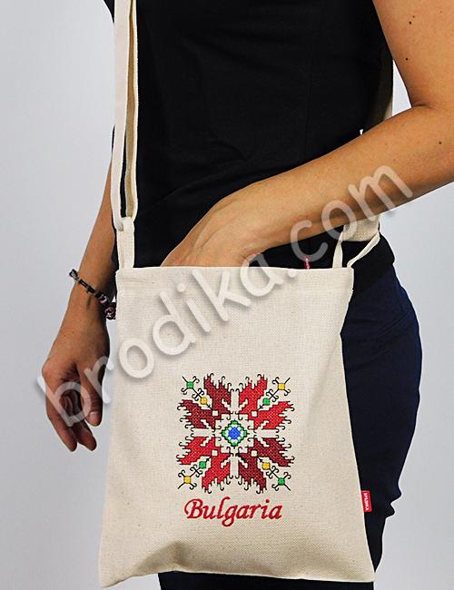 Текстилна чанта с регулируема дръжка 1