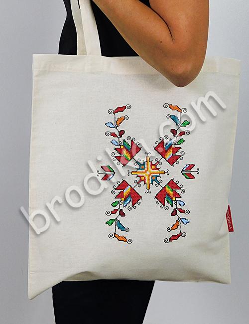 """Текстилна чанта """"Лазарки"""" 3"""