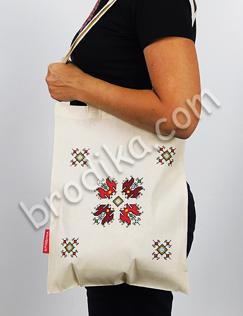 """Текстилна чанта """"Огнена Елбетица"""" 2"""