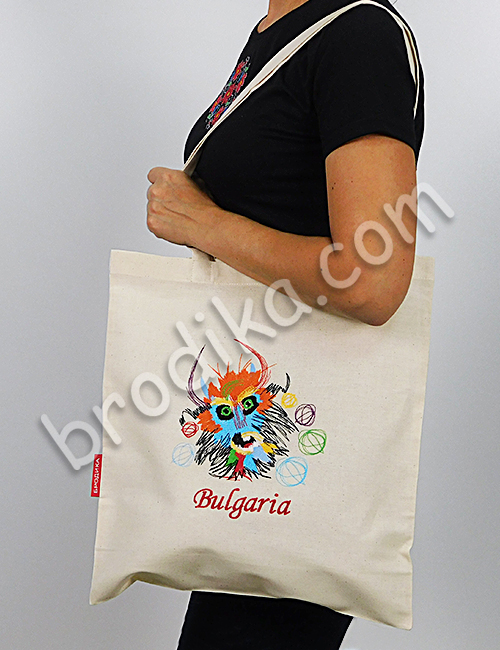 "Текстилна чанта ""Кукер"" 3"