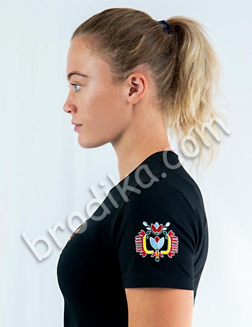 """Дамска тениска с къс ръкав """"Пролетина"""" 3"""