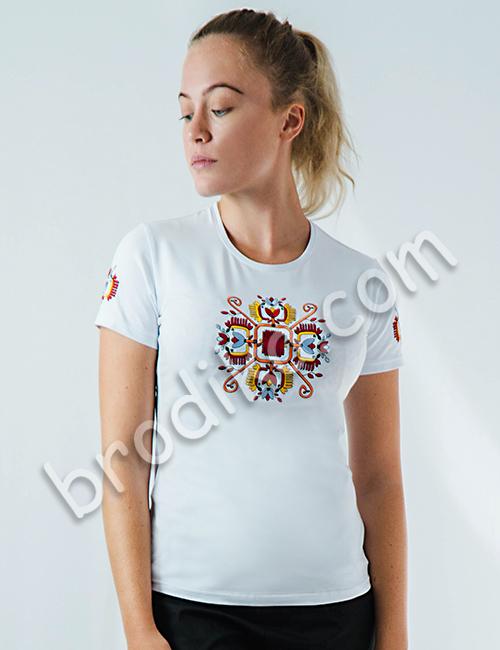 """Дамска тениска с къс ръкав """"Пролетина"""" 1"""
