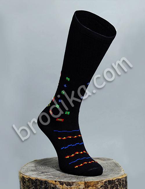 """Дамски чорапи """"Пъстреници"""" 2"""