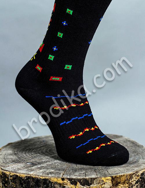 """Дамски чорапи """"Пъстреници"""" 1"""
